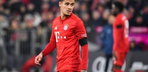 Foot: le Bayern Munich ne gardera pas Coutinho