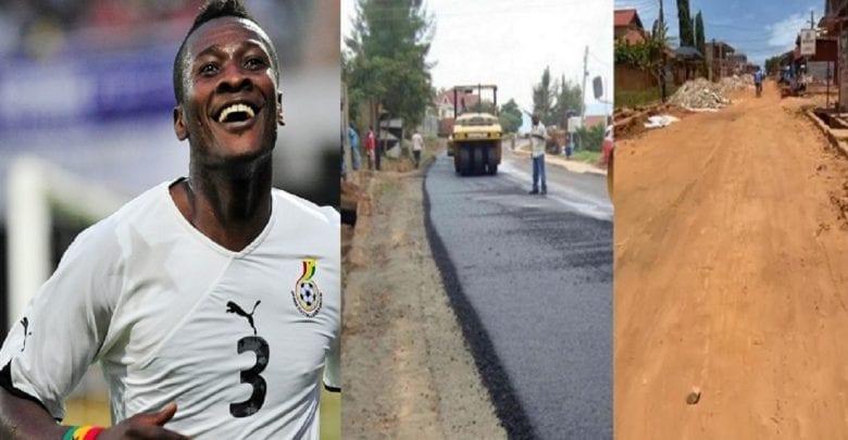 Ghana: Asamoah Gyan prend en charge les frais de construction d'une route principale