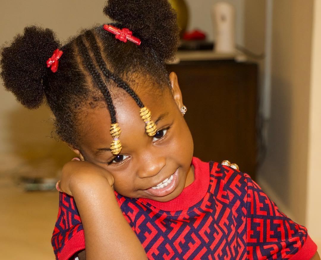 Imade Adeleke, la fille de Davido filmée en train de parler couramment français