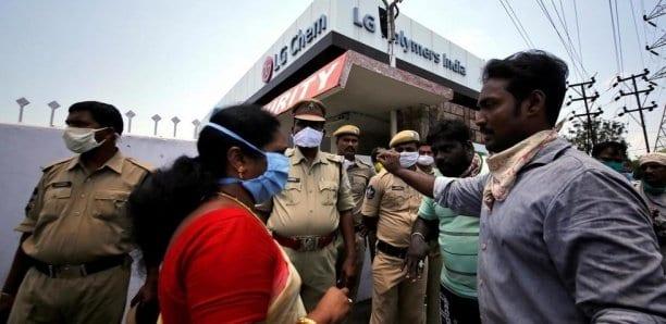 Inde: manifestation avec des cadavres après une fuite de gaz mortelle