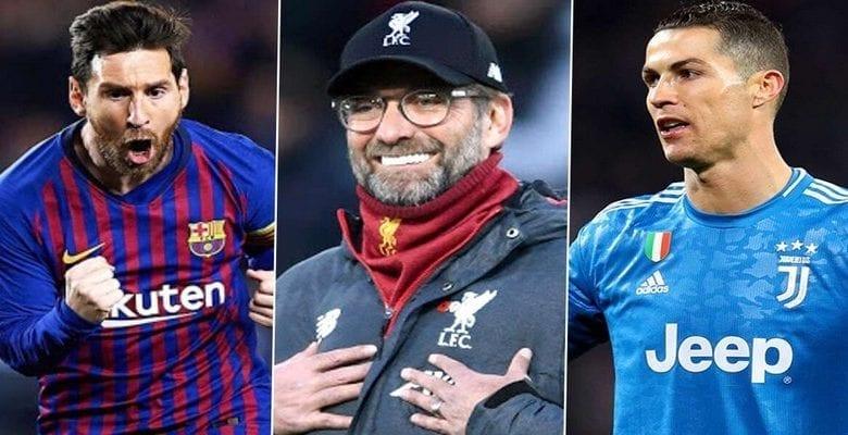 Jürgen Klopp fait son choix entre Lionel Messi et Cristiano Ronaldo
