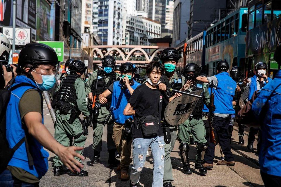 Le chef de la sécurité de Hongkong prévient d'une hausse du «terrorisme»