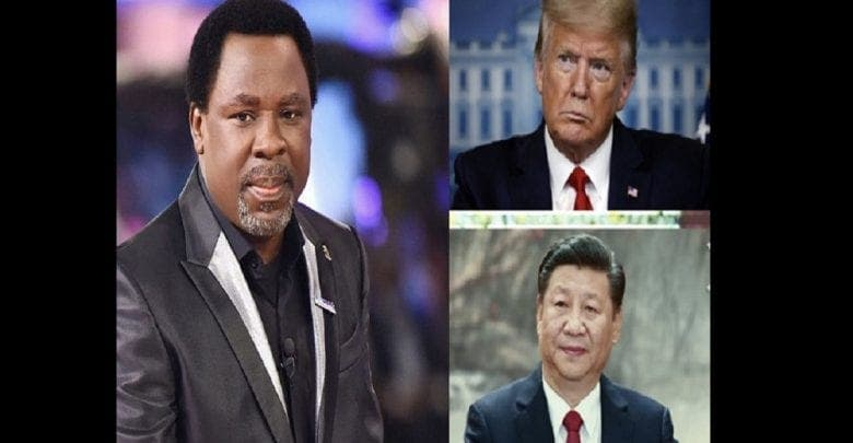 Le prophète T.B Joshua explique pourquoi toutes les nations dépendent de la Chine