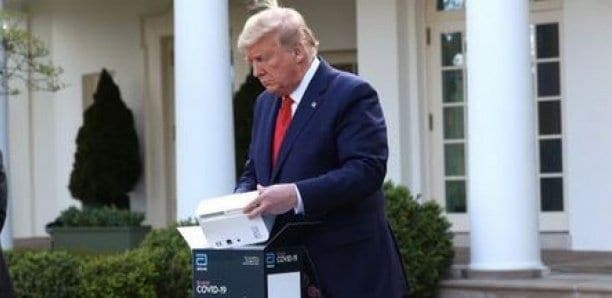 Le test Covid-19 promu par Trump produirait jusqu'à 48% de faux négatifs