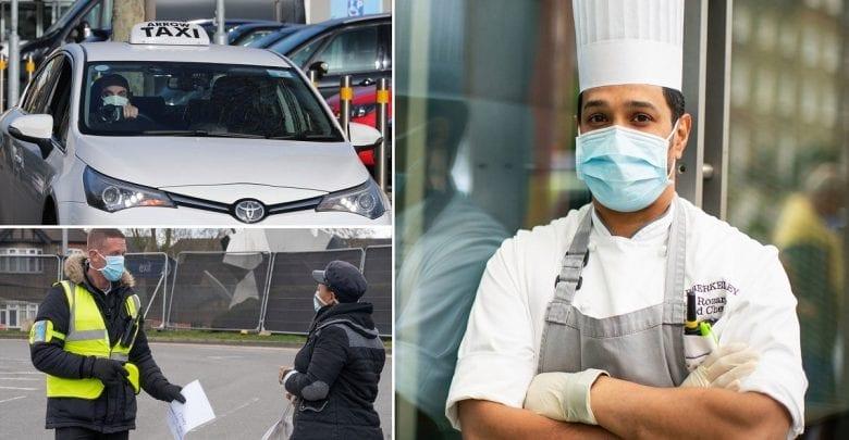 Les agents de sécurité et les chauffeurs de taxi sont les plus susceptibles de mourir du coronavirus – Etude