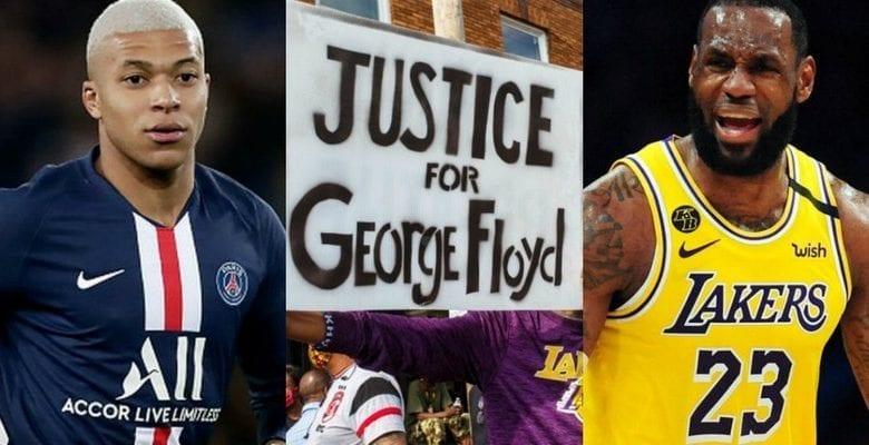 Meurtre de George Floyd: après Lebron James, Kylian Mbappé réagit à son tour