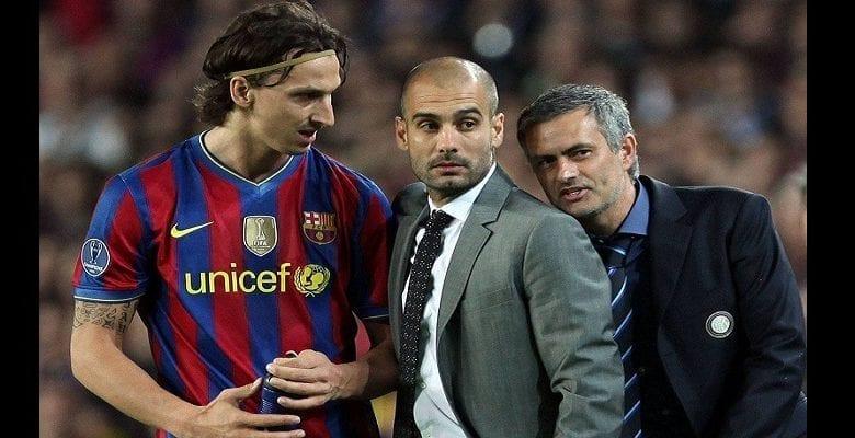 Mourinho révèle enfin ce qu'il avait soufflé à l'oreille de Guardiola lors du match Barça-Inter en 2010