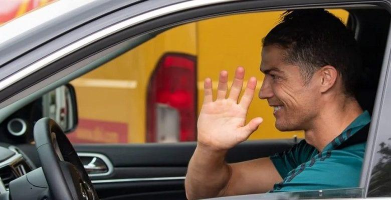 Ronaldo: le retour de la star portugaise à l'entrainement avec la juve(photos)