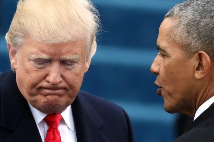 « Regardez, il était un président incompétent » Trump répond aux critiques d'Obama