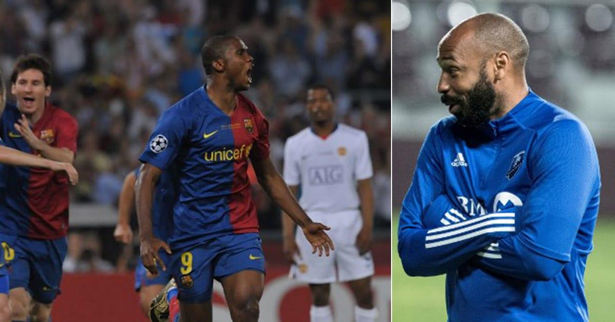 Thierry Henry parle du bon temps passé avec Samuel Eto'o au Fc Barcelone