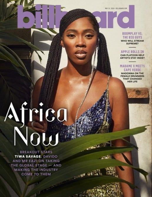 Tiwa Savage en couverture du célèbre magazine Billboard