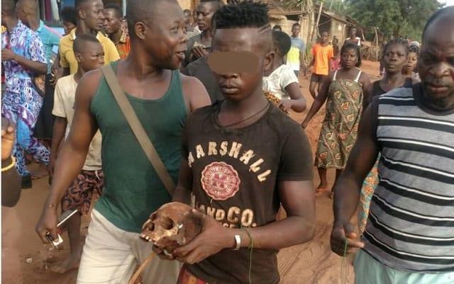 Togo : un jeune arrêté avec plusieurs crânes humains