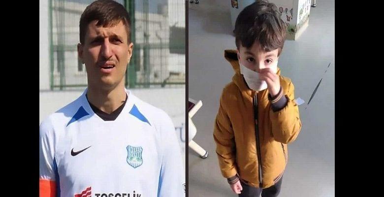 Un footballeur  tue son fils de 5 ans atteint de coronavirus