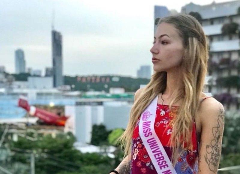 Une finaliste de  Miss Univers se suicide