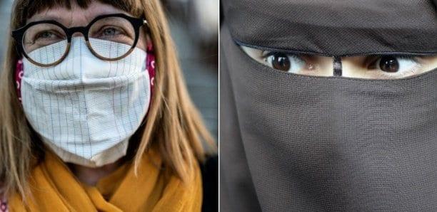 Visages masqués, la contradiction à visage découvert