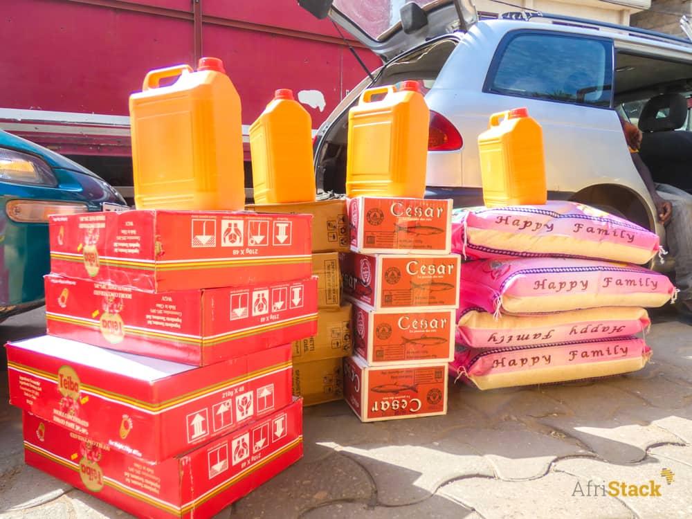 Lutte contre le coronavirus : AfriStack offre des vivres et non-vivres à des orphelinats.
