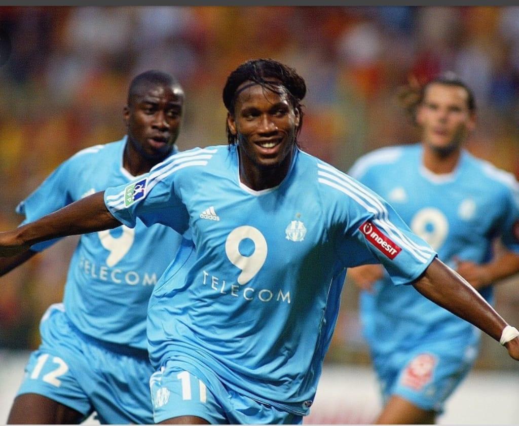 Didier Drogba élu meilleur attaquant de Ligue 1 sur ces 20 dernières années