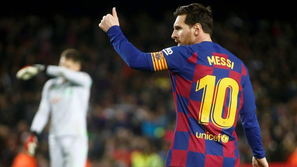 La décision que Messi avait prise avant une victoire de Barça en Ligue des  Champions