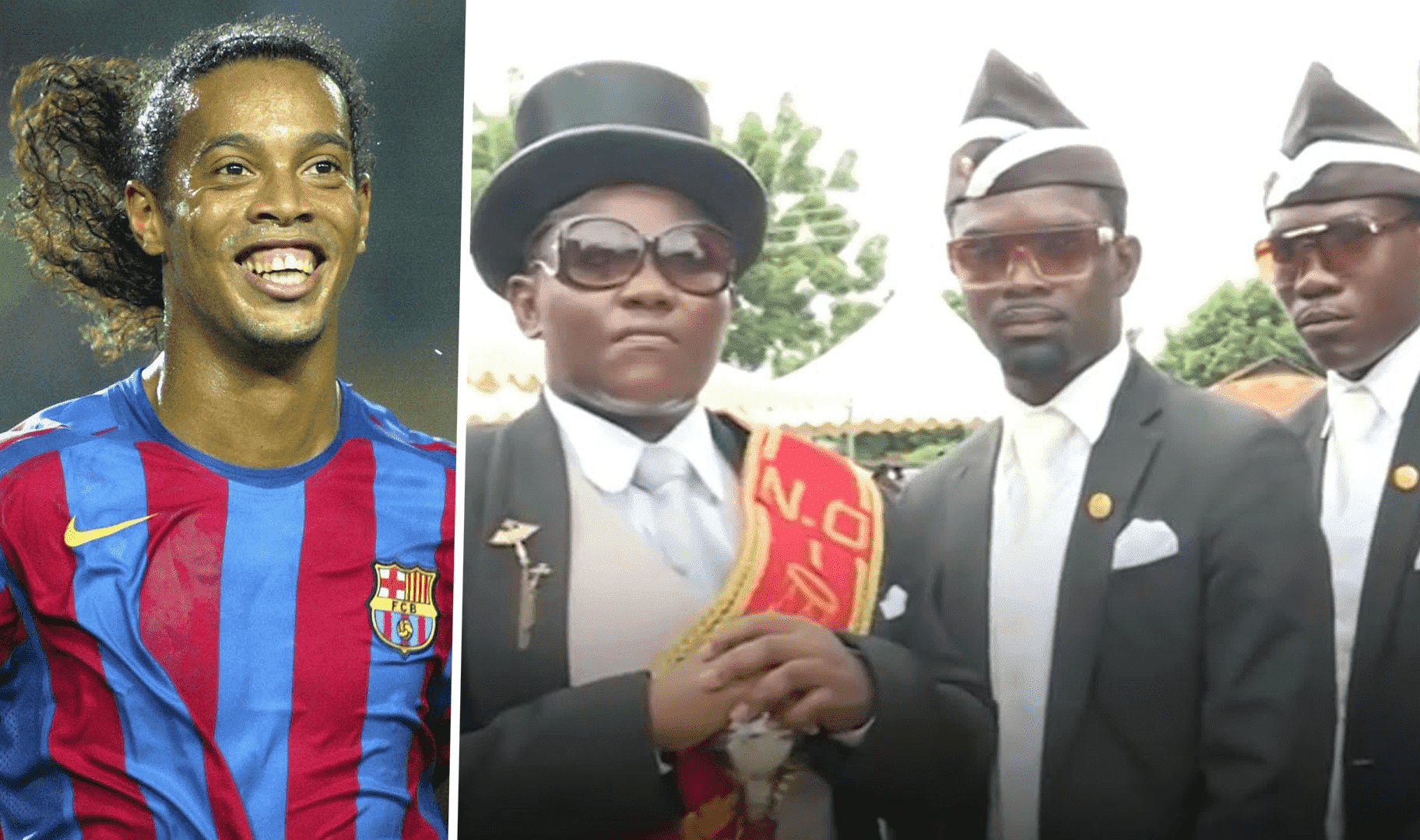 Un porteur de cercueil  rêve de conduire Ronaldinho jusqu'à sa dernière demeure