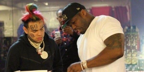50 Cent répond à 6ix9ine qui veut remixer un de ses tubes à succès-Vidéo