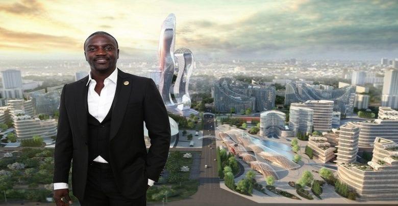 Akon offre un contrat de 6 milliards de dollars pour la construction de la «ville de wakanda» au Sénégal