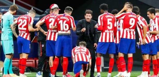 L'Atlético de Madrid se défait de Valladolid et monte sur le podium