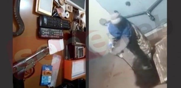 Bambey : Un vieil homme de 63 ans filmé en train de cambrioler un magasin en plein couvre-feu