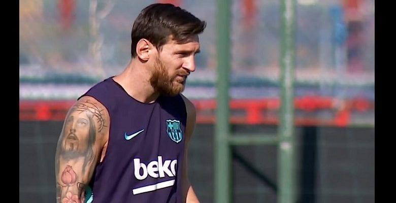Barça : Lionel Messi écarté de l'entrainement collectif, la raison dévoilée