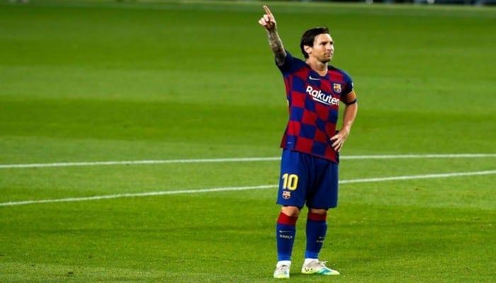 Barça: Messi suscite la polémique avec la célébration de son but