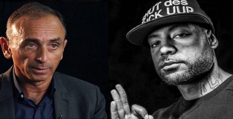 Booba clashe Éric Zemmour indigné par la vidéo des Blancs agenouillés devant des Noirs américains