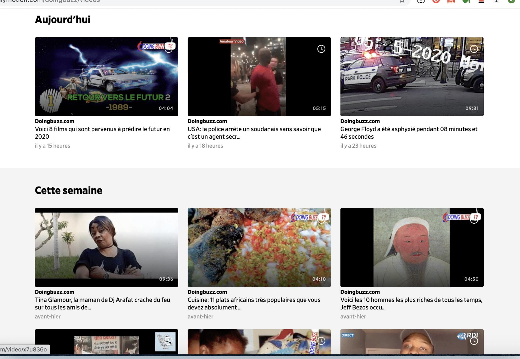 Suivez nous sur Dailymotion avec 11.6M vues – La plateforme plus intéressante que Youtube