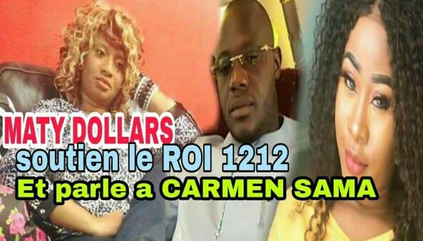 Carmen Sama en couple avec ROI 1212 ?