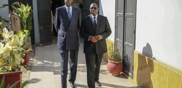 Condoléances : Macky Sall et Abdou Diouf chez Mimi Touré