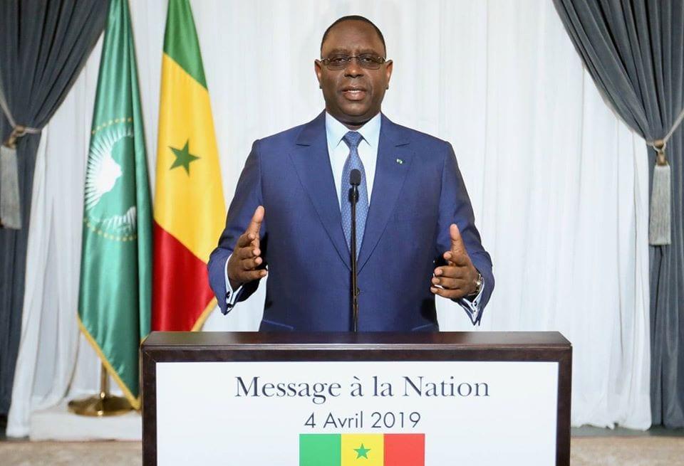DERNIÈRE MINUTE – MACKY SALL PARLE À LA NATION SÉNÉGALAISE