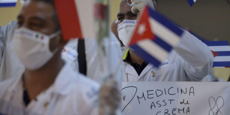 DES MÉDECINS CUBAINS ARRIVENT EN RENFORT EN MARTINIQUE, UNE PREMIÈRE EN FRANCE