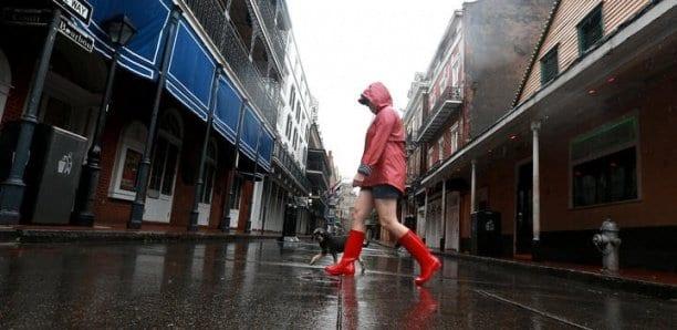 États-Unis : la tempête tropicale Cristobal s'abat sur les côtes de la Louisiane