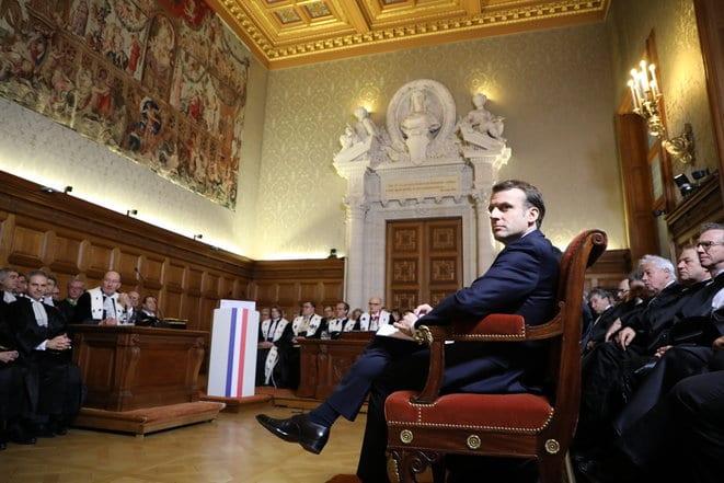 Emmanuel Macron s'exempte de la séparation des pouvoirs