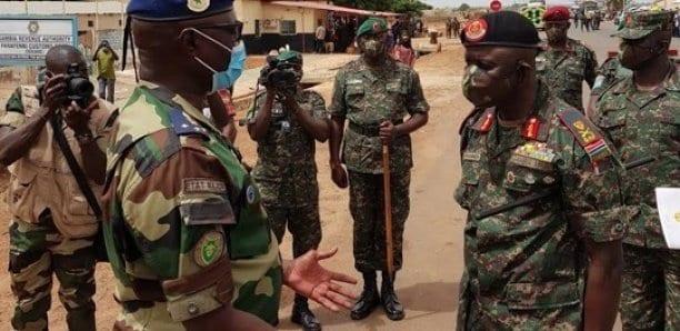 [Photos] Farafegny/Keur Ayib : Rencontre entre les Cemga sénégalais et gambien