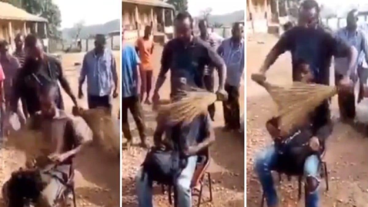 Ghana : un traditionaliste utilise 2 balais pour retrouver un voleur (Vidéo)