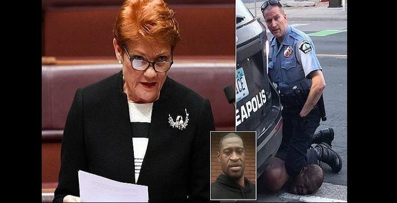 """""""George Floyd était un criminel, un dangereux voyou"""": les propos choquants d'une politicienne australienne sur le meurtre de l'Afro-américain"""