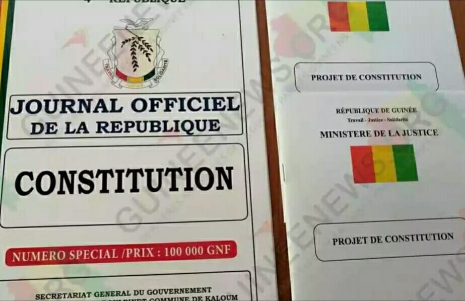 Guinée/Constitution : Polémique sur des différences entre le texte voté et celui publié