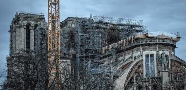 Incendie de Notre-Dame de Paris : début du délicat démontage de l'échafaudage