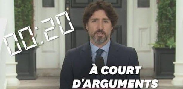 Interrogé sur Donald Trump, Justin Trudeau a hésité pendant 20 secondes