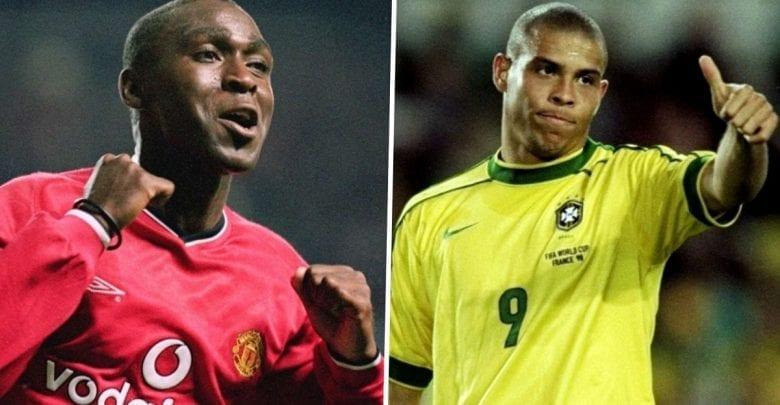 """""""J'ai failli me pisser dessus quand j'ai vu Ronaldo! »- Andy Cole"""