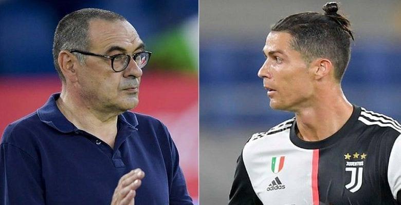 Juve: Cristiano Ronaldo taclé par son entraineur Maurizio Sarri