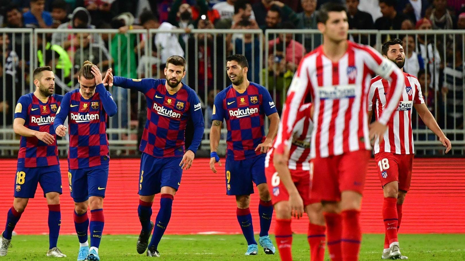 LE FC BARCELONE CALE DEVANT L'ATLÉTICO MADRID ET LAISSE UN BOULEVARD AU REAL MADRID (RÉSUMÉ EN VIDÉO)