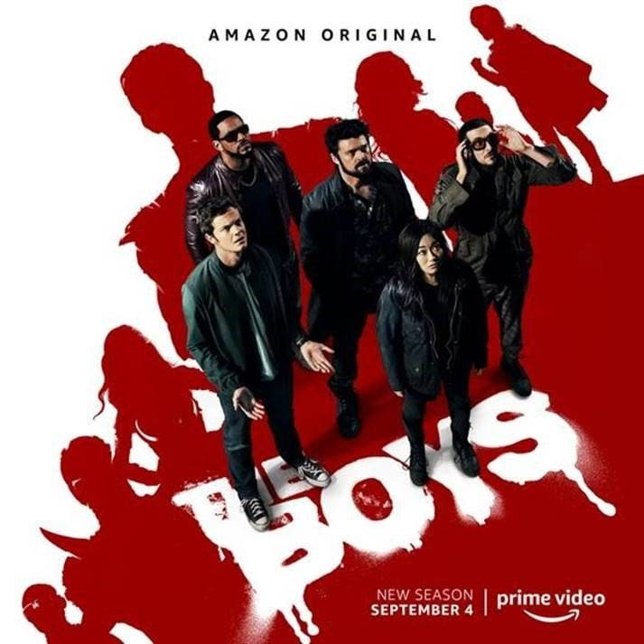 LE SAISON 2 DE LA SÉRIE THE BOYS ARRIVE SUR AMAZON PRIME VIDEO EN SEPTEMBRE