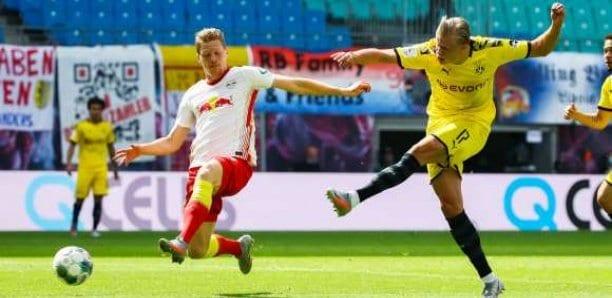 Le Borussia Dortmund maîtrise à Leipzig