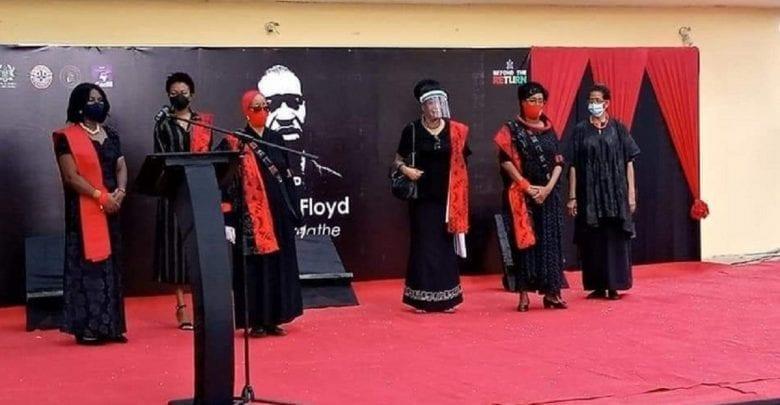 Le Ghana organise un événement commémoratif en l'honneur de George Floyd: Vidéo