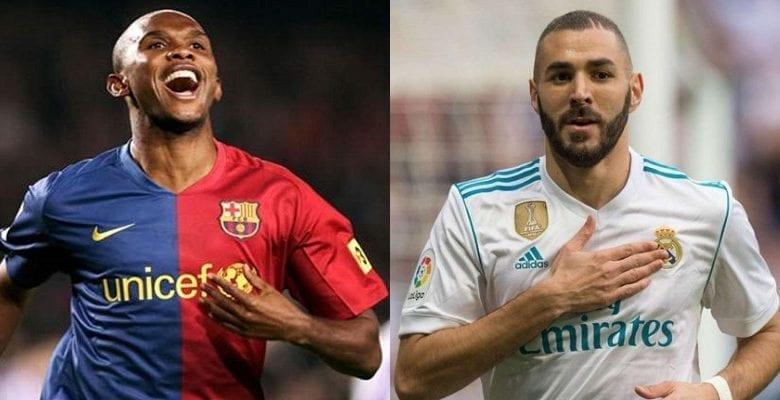 Le Top 5 des meilleurs buteurs étrangers de l'histoire de la liga, Benzema bat le record d'Eto'o